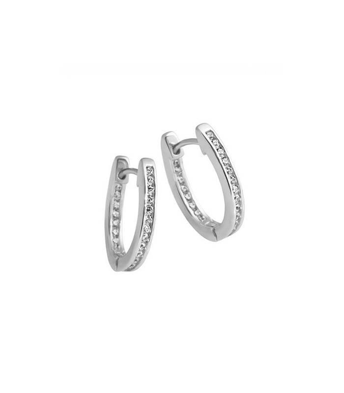 Pendientes Plata Circonitas Diamondfire 6217301082