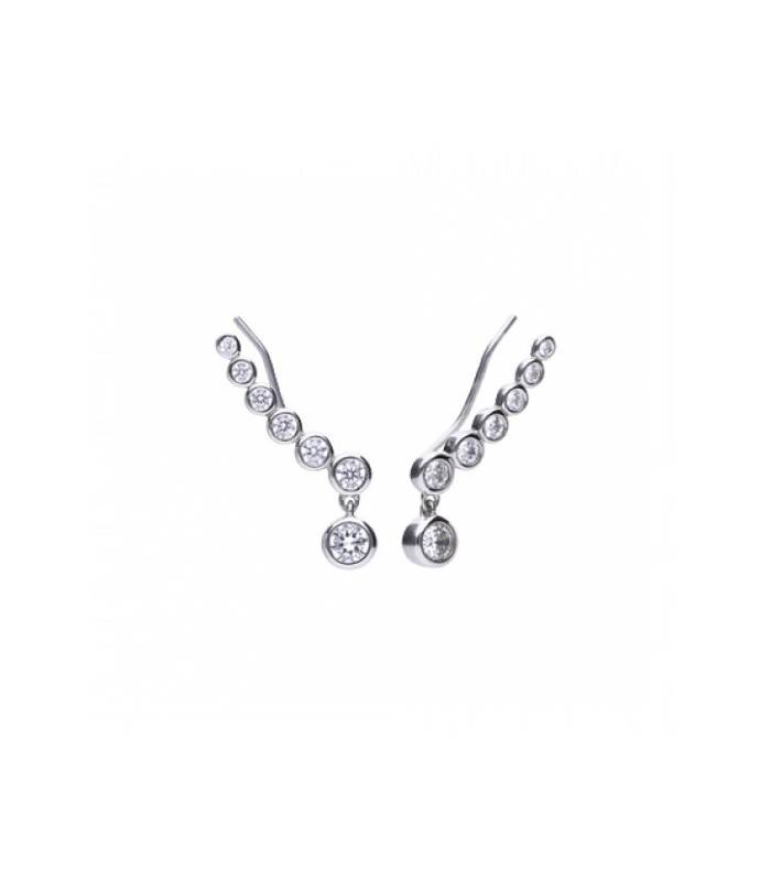 Pendientes Plata Circonitas Diamondfire 6218341082