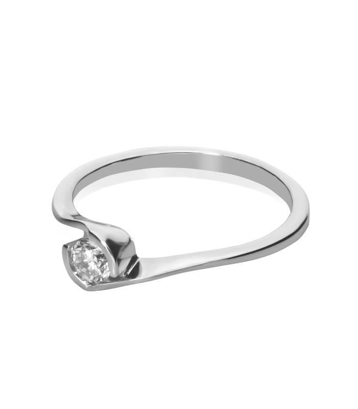 """Anillo """"LIFE Luna"""" Oro 18 k con Diamante"""