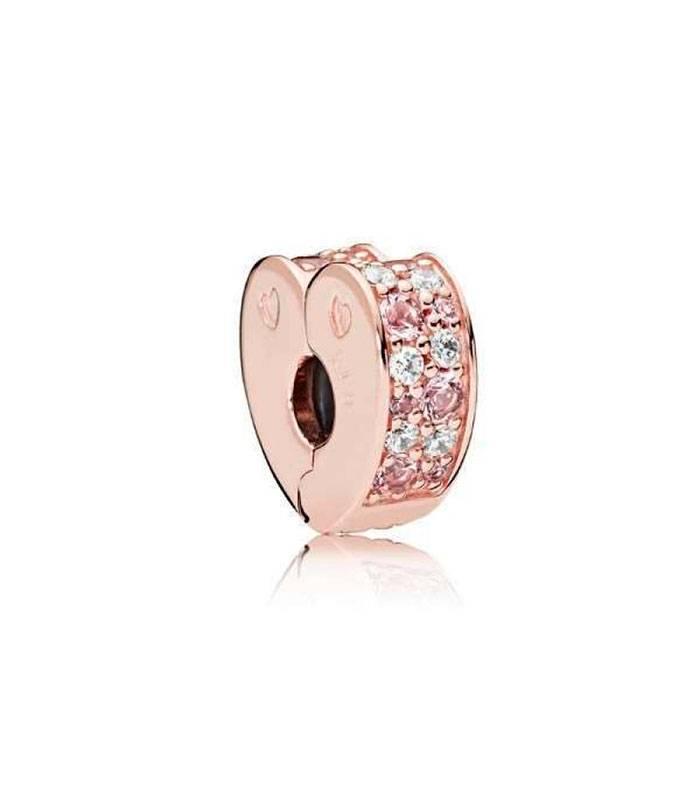 339d425ea567 Clip Pandora Arco de Amor Mix Rosa 787020NPM