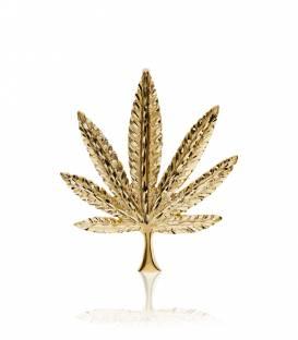 "Colgante ""Marihuana"" Oro 18k."