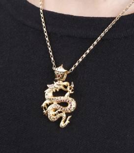"""Colgante """"Dragon"""" Oro 18k."""