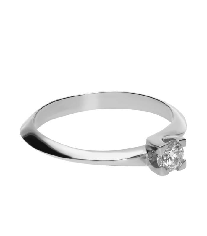 """Anillo """"LIFE Alma"""" Oro 18 k con Diamante"""