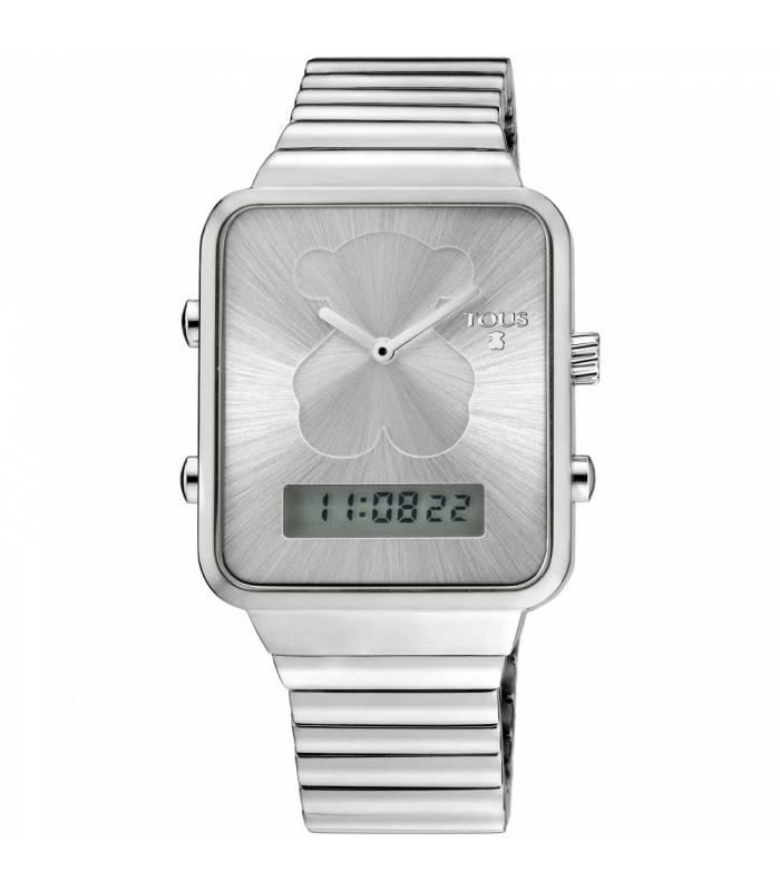 Reloj Tous digital I-Bear de acero 700350120