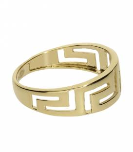 "Anillo ""Greek"" Oro 18k Greca"