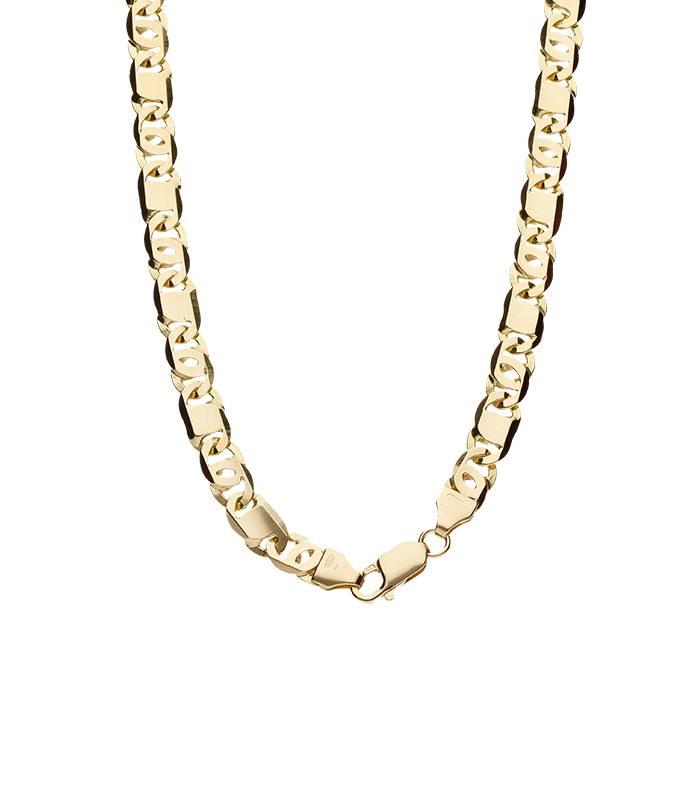 """Cadena """"Gergia"""" Tipo Valentín Oro 18k 60 cm"""
