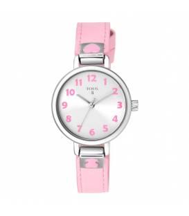 Reloj Tous Dream de acero con correa de piel rosa 900350205