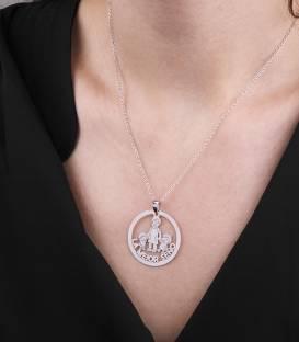 """Collar """"La Mejor Seño """" Plata de Ley"""