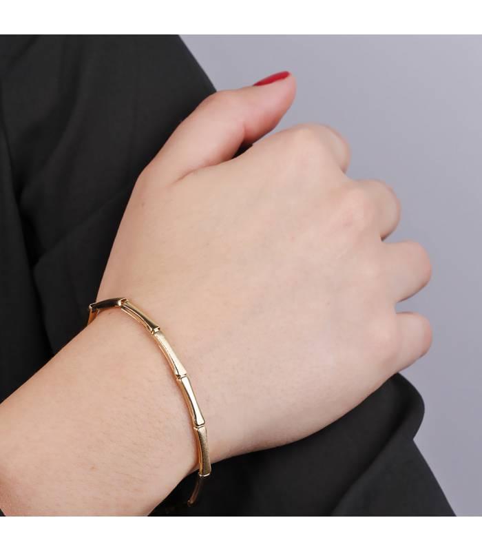 """Pulsera """"Renata"""" Oro blanco 18k y diamantes"""
