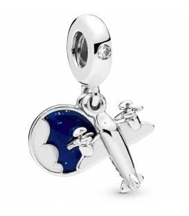 Charm colgante Pandora en plata de ley Avioneta 798027CZ