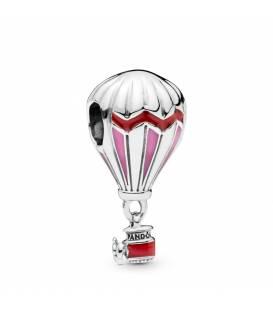 Charm Pandora en plata de ley Globo Aeroestático Rojo 798055ENMX