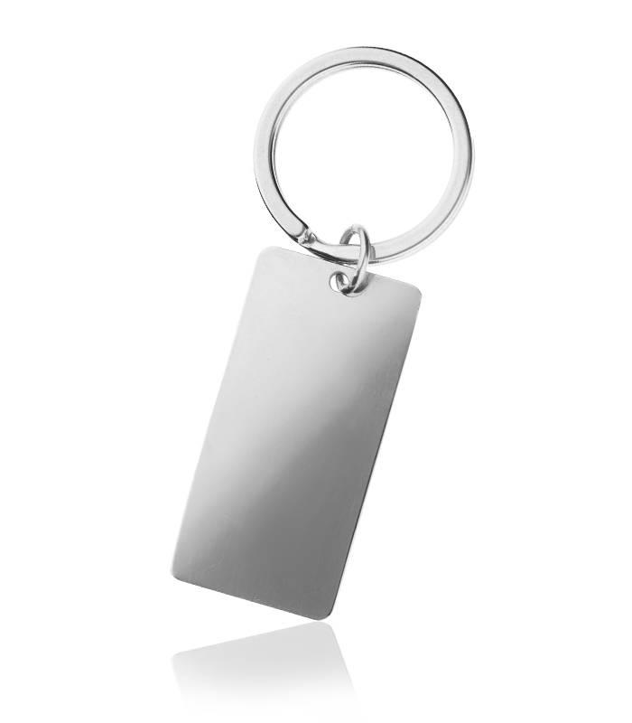 Llavero Personalizable Plata de Ley