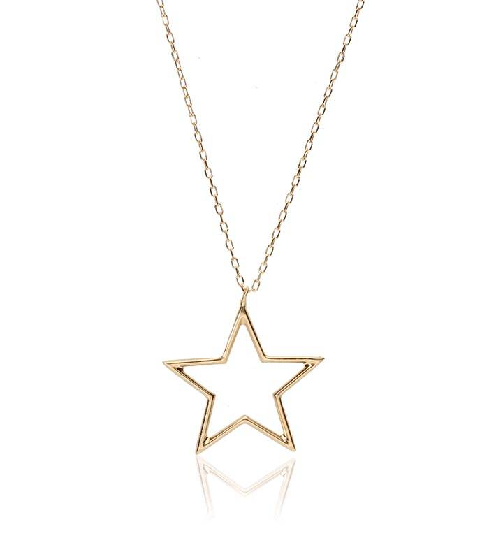 "Gargantilla ""Space Star"" oro 18k"