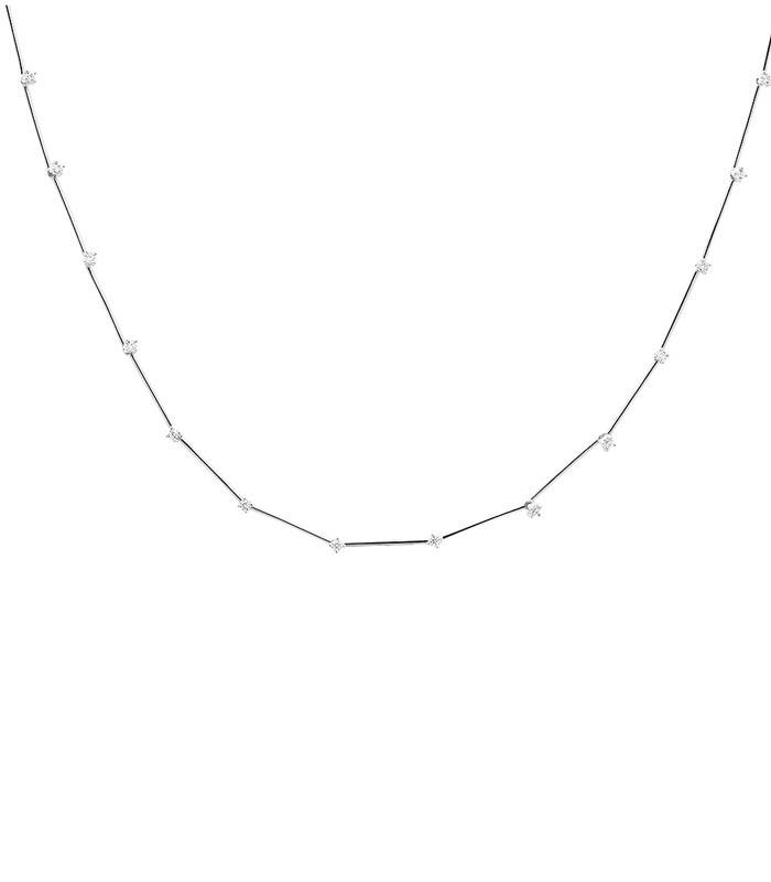 "Collar Plata PDPAOLA ""Bloom Silver"" CO02-124-U"