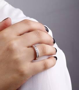 """Anillo """"Lis"""" 0.36 cts. Oro Blanco y Diamantes"""