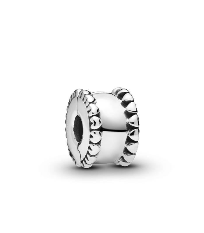 Charm Pandora Banda de Corazones en plata de ley 798560C00