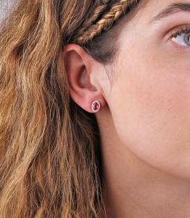 "Pendientes ""Fatty Star"" Oro 18k y diamante"