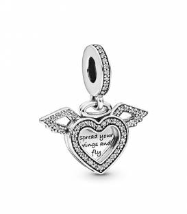 Charm Pandora Colgante Corazón con Alas 798485C01