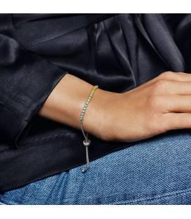 Pulsera Pandora Hilo Luminoso Multicolor 590524PCZMX