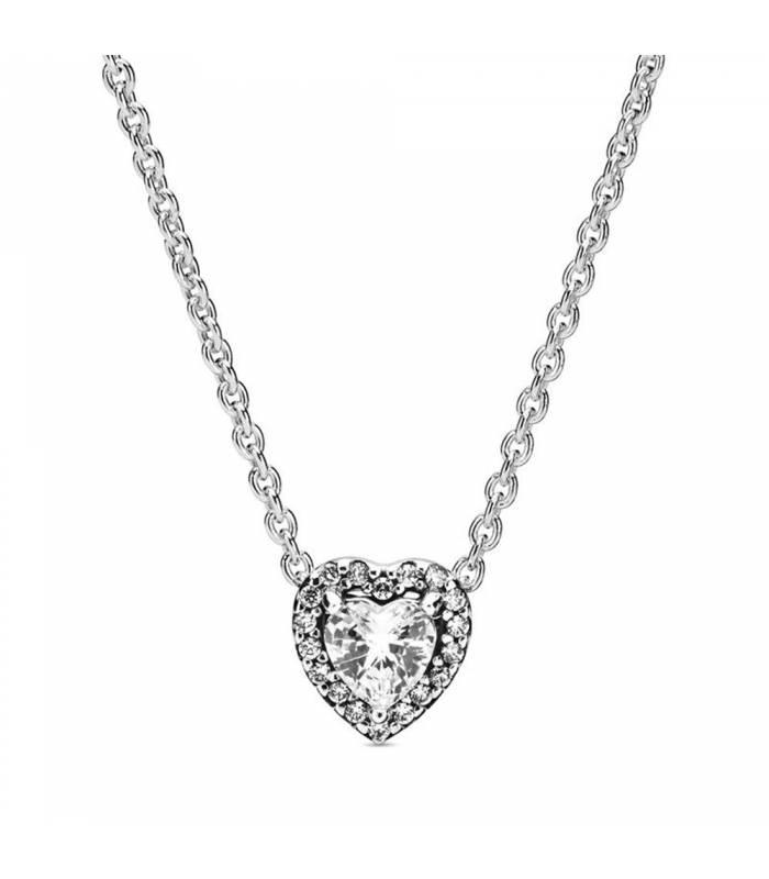 Collar Pandora Corazón en Relieve 398425C01-45