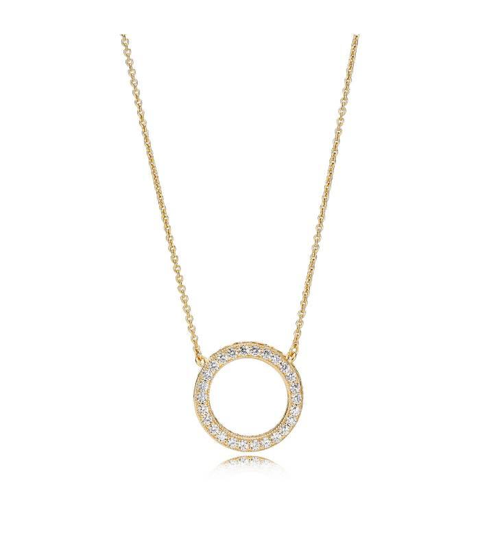 Collar Pandora Shine Corazones de PANDORA 367121CZ