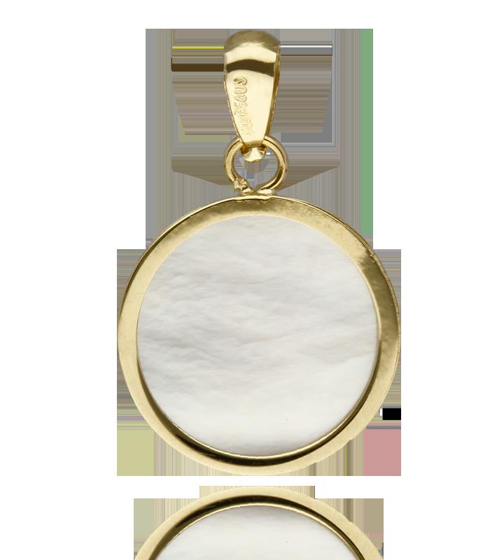 Medalla nácar Virgen Niña