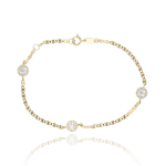 "Pulsera ""Ice Star"" oro 18k"
