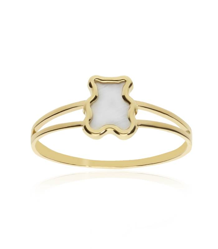 "ANILLO ""LULLY BEAR"" ORO 18K"