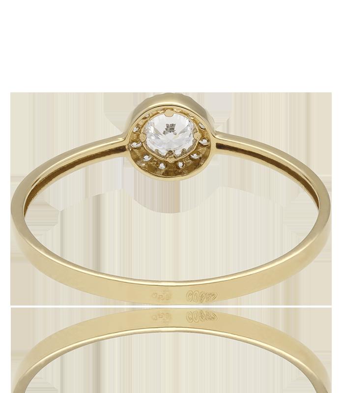 """Conjunto """"Ice Star Pearl"""" oro 18k circonitas y perlas cultivadas"""