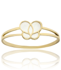 Anillo Mariposa Oro y Nácar