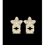 """Pendientes """"Etoile"""" Oro de 18k"""