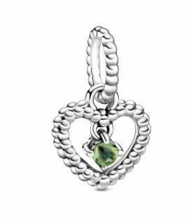 Charm Corazón Pandora en Verde