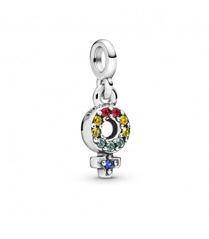 Charm Pandora Símbolo femenino 798382NRGMX