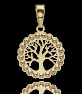 Colgante Árbol de la Vida con Circonitas