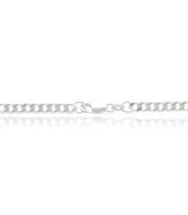 Cadena de Plata Barbada