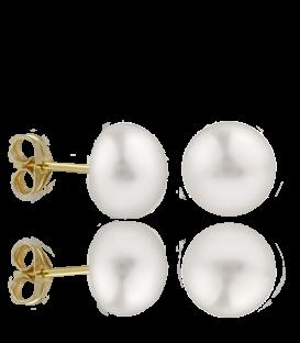 Pendientes Perlas cultivadas