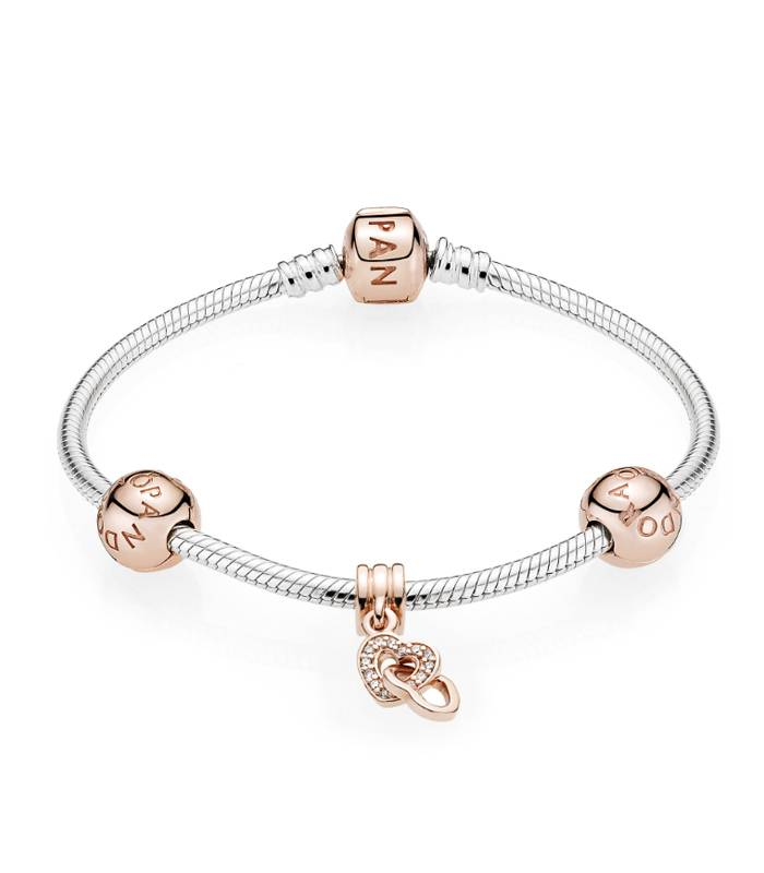 Pulsera Pandora Moments Rose para charms 580702