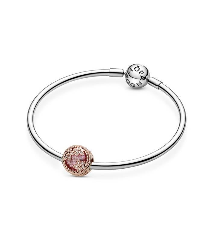 Charm Pandora Rose Margaritas rosas