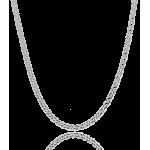 "Cadena ""Bali"" Plata de Ley 50cm"