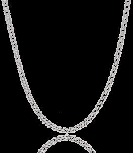"""Cadena """"Bali"""" Plata de Ley 40x50cm"""