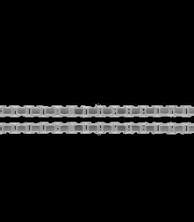 Cadena Eslabón Veneciano en Plata de primera Ley 37x45cm