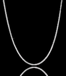 Cadena Veneciana en Plata de Primera Ley 40cm