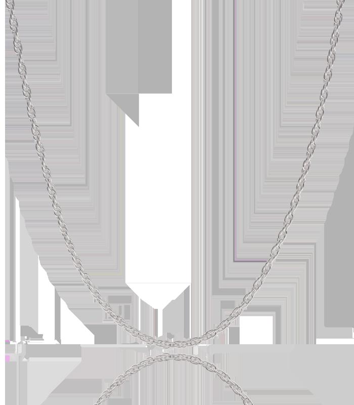 """Cordoncillo """"Hathor"""" Plata de Ley 45 cm"""