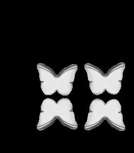 Pendientes Mariposa en Plata de Primera Ley