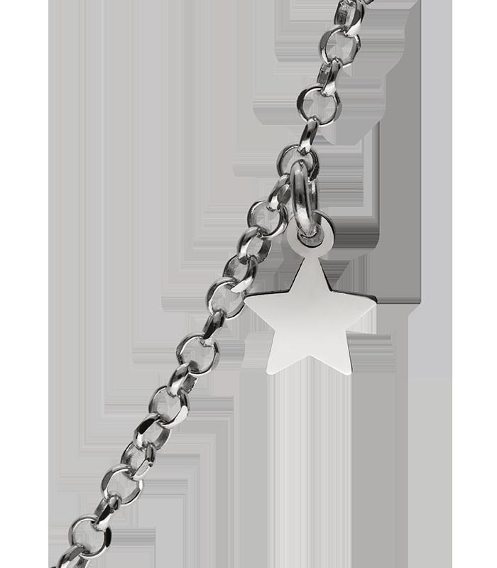 Colgante Plata Niño con Estrella