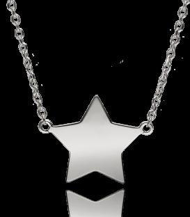 """Gargantilla """"Shine Star"""" Plata de Ley"""