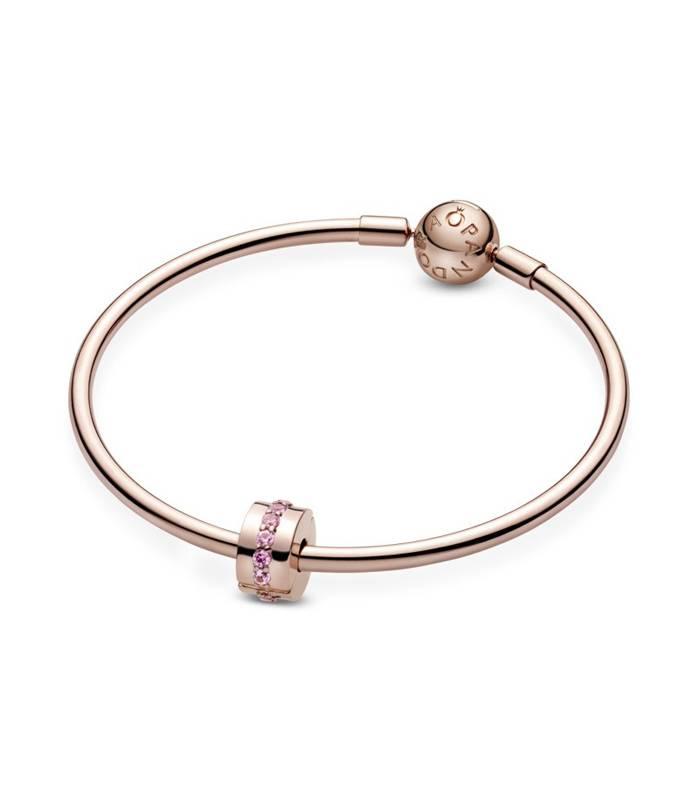 Clip en Pandora Rose Línea Rosa Brillante 781972C01
