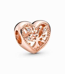 Charm de Corazón Árbol de la familia 788826C01
