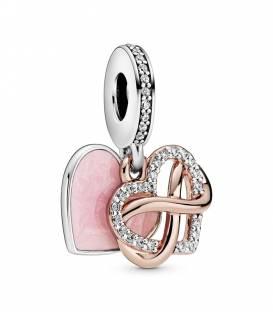 Charm Colgante Corazón Infinito Brillante 788878C01