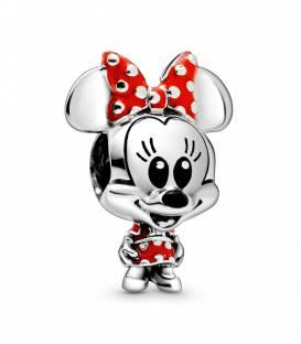 Charm Minnie Mouse con Vestido y Lazo de lunares de Disney 798880C02